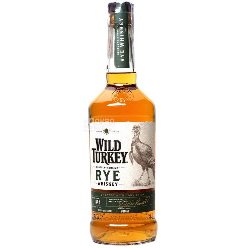 Wild Turkey Kentucky Straight Rye, Бурбон, 0,7 л