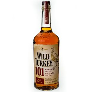 Wild Turkey 101, Бурбон, 1 л