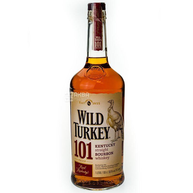 Wild Turkey 101 Бурбон, 1 л