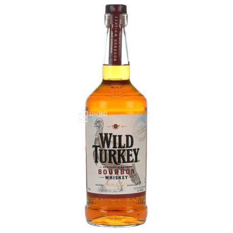 Wild Turkey 81 Бурбон, 1л