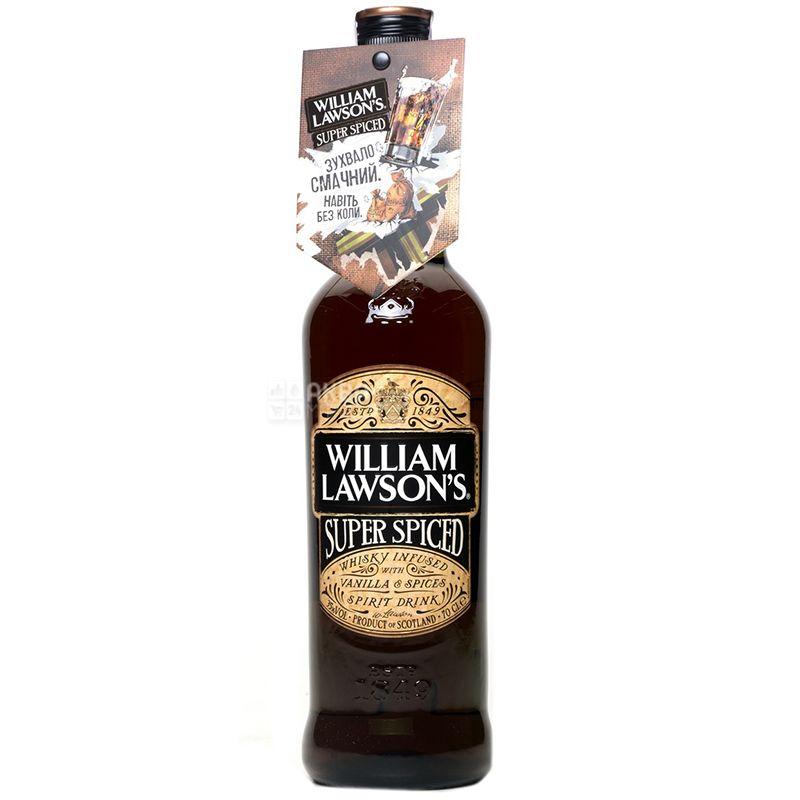 WIlliam Lawson's Super Spiced Виски, 0.7л