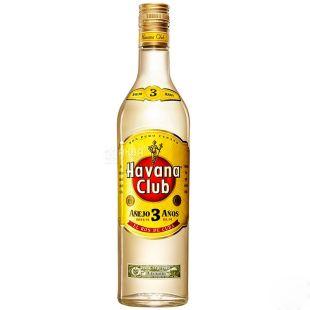 Havana Club Anejo, Ром, 3 года выдержки, 0,7 л