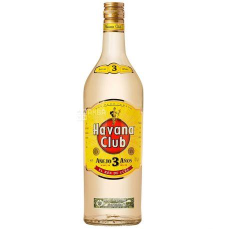 Havana Club Anejo, Ром, 3 года выдержки, 1 л