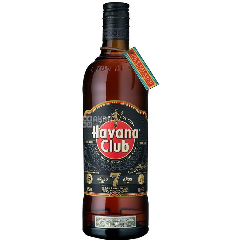 Havana Club Anejo, Ром, 7 років витримки, 0,7 л