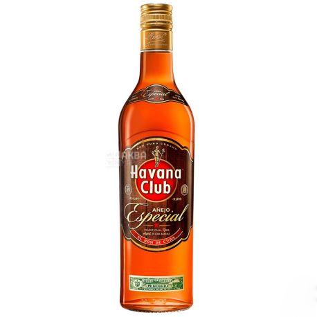 Havana Club Anejo Especial, Ром, 3 роки витримки, 0,7 л