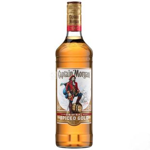 Captain Morgan Spiced Gold, Gold Rum, 0.7 L
