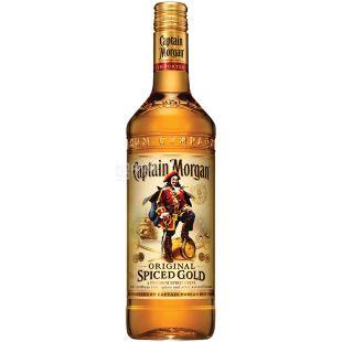 Captain Morgan Spiced Gold, Gold Rum, 1 L