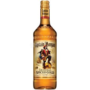 Captain Morgan Spiced Gold, Ром золотий, 1 л