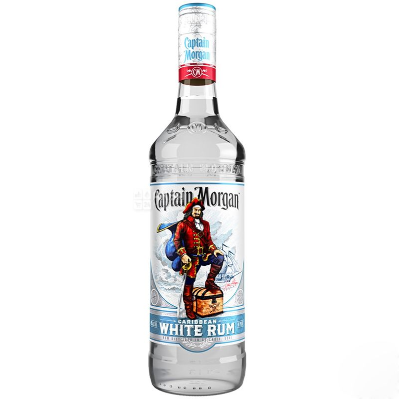 Captain Morgan White, Ром білий, 0,7 л
