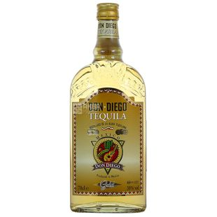 Don Diego Gold, Tequila, 0.7 l