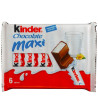 Kinder Chocolate Maxi, Chocolate Milk Bar, 6 pcs. by 21 g, m / y