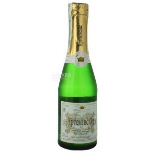 Артемовское, Вино игристое, Белое полусладкое, 0,2 л
