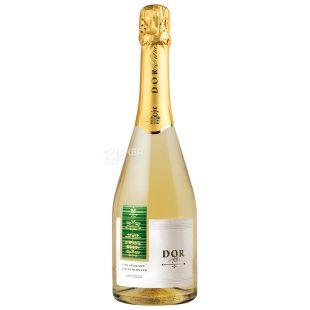 Bostavan Dor Вино игристое, Белое полусладкое, 0,75 л, Стеклянная бутылка