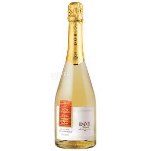 Bostavan Dor Вино игристое, Мускат, Белое полусладкое, 0,75 л, Стеклянная бутылка
