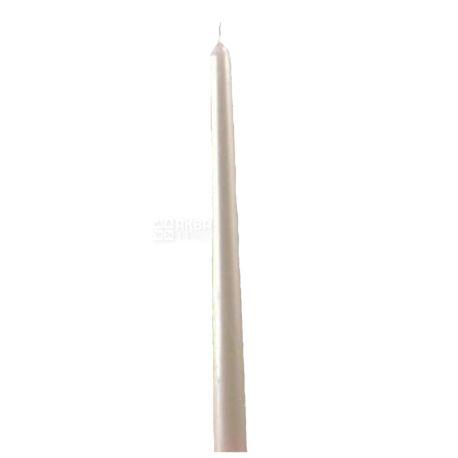 Pragnis Свеча, Столовая, Перламутровый металлик, 2,2x25 см
