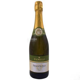 Fiorelli Фраголино Бьянко Вино, Белое сладкое, 0,75 л, Стеклянная бутылка