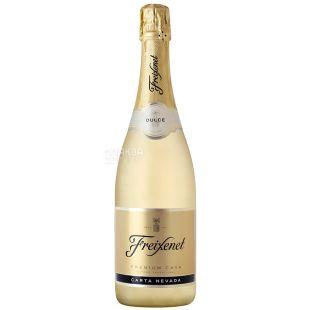 Freixenet Cava Carta Nevada Semi Seco, Вино игристое, Белое полусухое, 0,75 л, Стеклянная бутылка