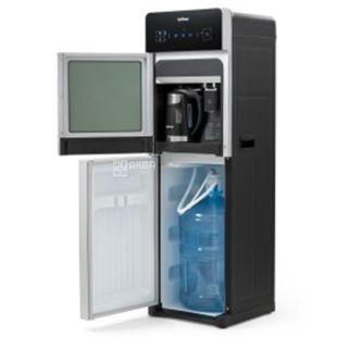 HotFrost 350ANET Silver, Кулер для воды напольный с чайником, сенсорная панель, 1 кран