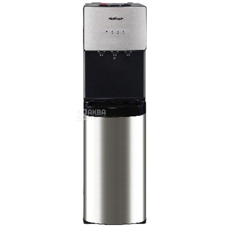 HotFrost 400AS, Кулер для воды с компрессорным охлаждением, напольный, 3 крана