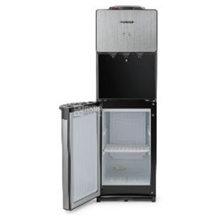 HotFrost 400BS, Floor water cooler, silver-black, 3 taps