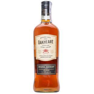 Bacardi Oakheart Original, Rum, 1 Year Old, 1 L