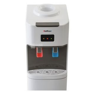 HotFrost V115, Outdoor water cooler, gray white, 2 taps