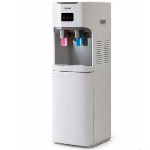 HotFrost V115A, Кулер для воды напольный, серо-белый, 2 крана