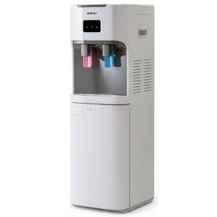 HotFrost V115AE, Outdoor Water Cooler, Gray White, 2 Faucets