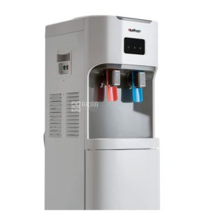HotFrost V115B, Outdoor water cooler, gray white, 2 taps