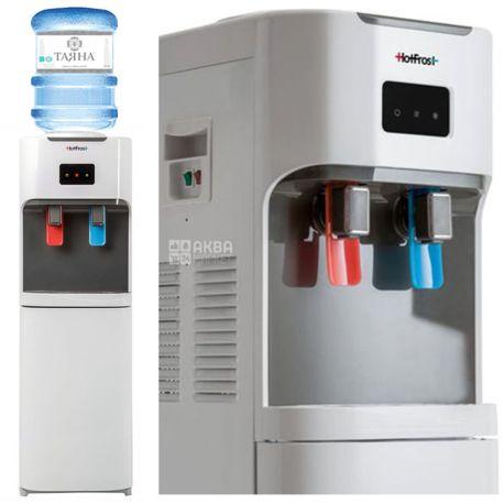 HotFrost V115B, Кулер для воды с компрессорным охлаждением, напольный