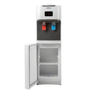 HotFrost V115C, Outdoor water cooler, gray white, 2 taps