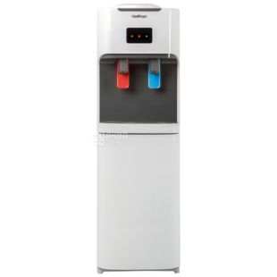 HotFrost V115CE, outdoor water cooler, gray white, 2 taps