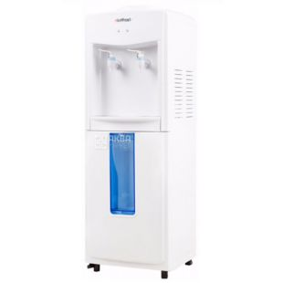 HotFrost V118R, Water dispenser for outdoor, white, 2 taps