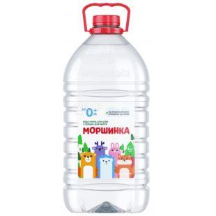 Моршинка, 6 л, Вода детская негазированная, с первых дней жизни, ПЭТ