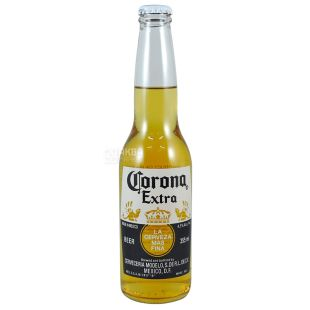 Corona Extra, light beer, 0.355 l