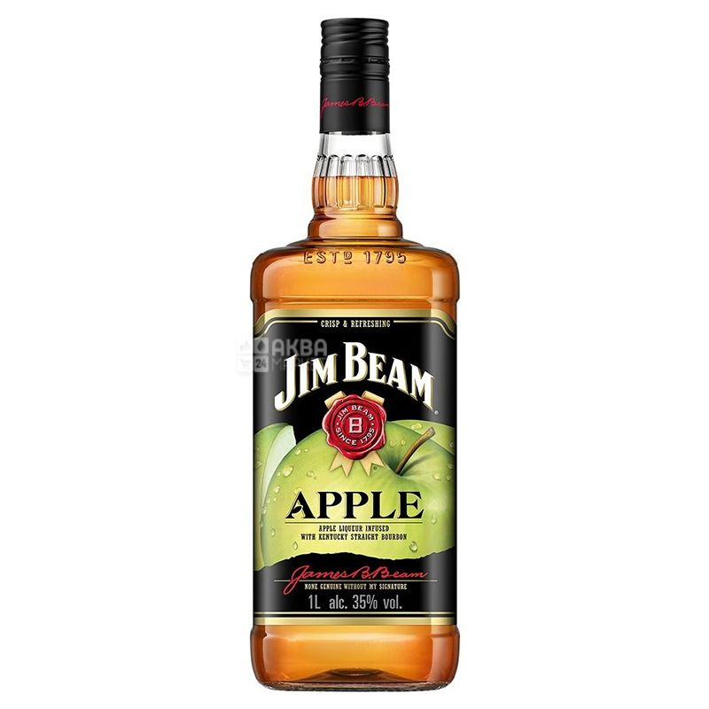 Jim Beam Apple Виски, 1 л