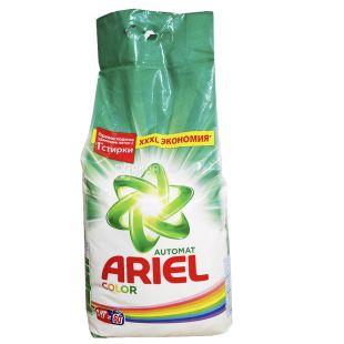 Ariel, 9 кг, Пральний порошок, Color, Автомат