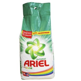 Ariel 9 kg, Washing powder, Color, Automatic