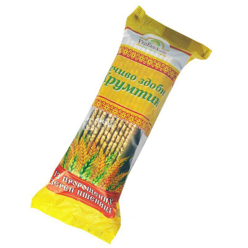 Печенье с проросшей пшеницы Хрумтик, 250 г