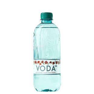 VODA UА Вода газированная, 0.5л, ПЭТ, упаковка 12шт