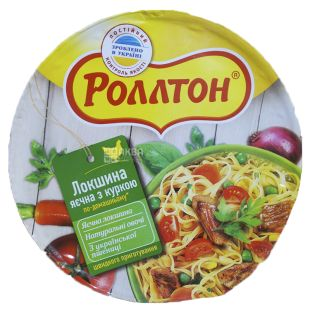 Rollton, 75 g, Egg noodles with chicken