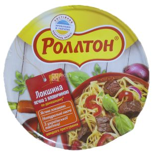 Rollton, 75 g, Egg noodles with beef