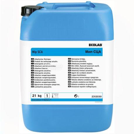 Ecolab Mip CA P3, 21 кг, концентрированное средство для дезинфекции бутылей