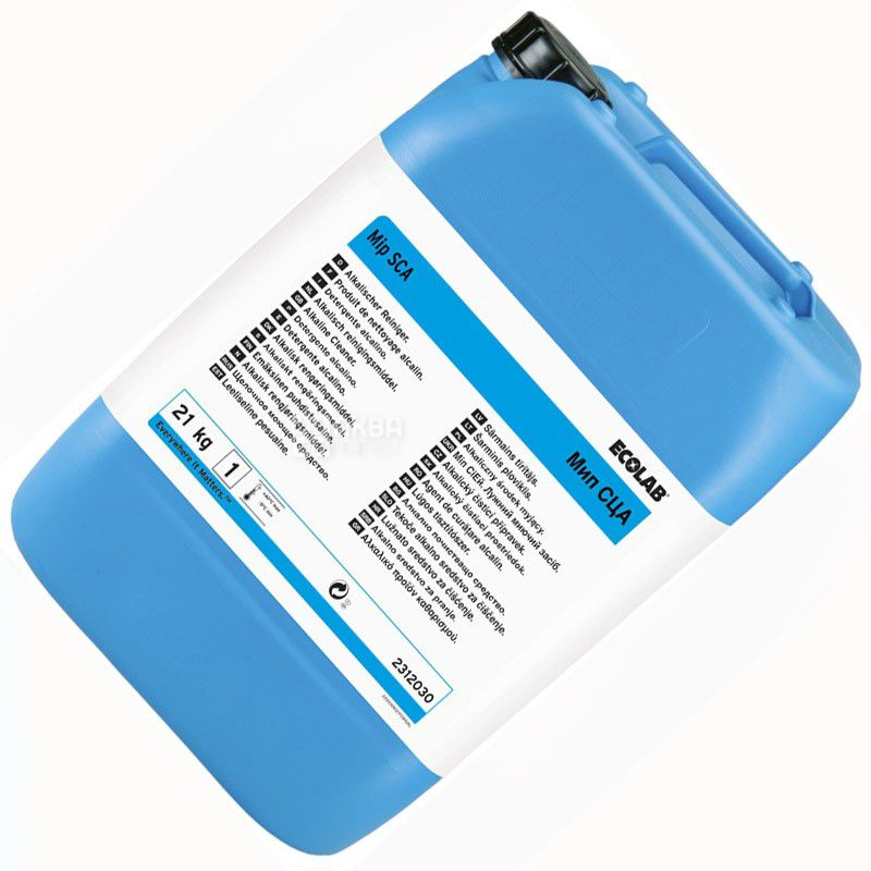 Ecolab Mip CA P3, 21 kg, concentrated disinfectant for bottles