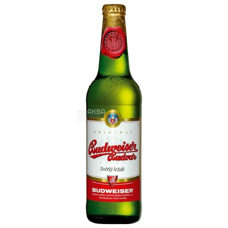 Budweiser Budvar, light beer, 0 33 l