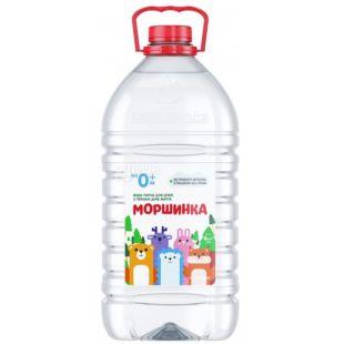 Моршинка, 6 л, Упаковка 10 шт., Вода детская негазированная, с первых дней жизни, ПЭТ
