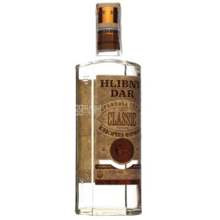 Bread Gift Classical Brand Vodka, 40%, 0.5 L