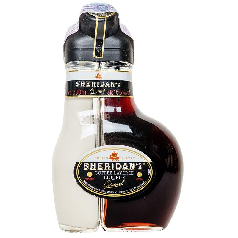 Sheridan's Ликер, сливочно - кофейный, 0,5 л
