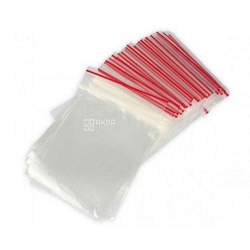 Пакети Zip-Lock, 6х8 см, 100 шт.