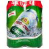 Obolon Light Beer, 0.5l, can, packing 4pcs.